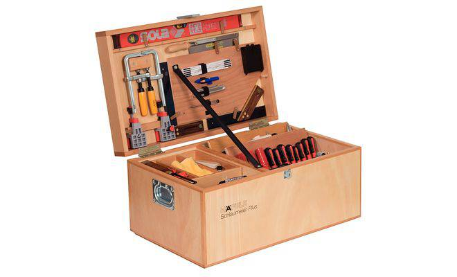 Ящик для инструментов из фанеры