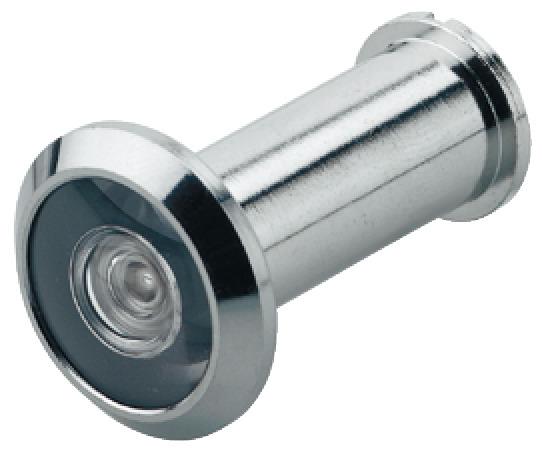 Door Eye 200 ° Brass Chrome Plated D 14 Mm ...