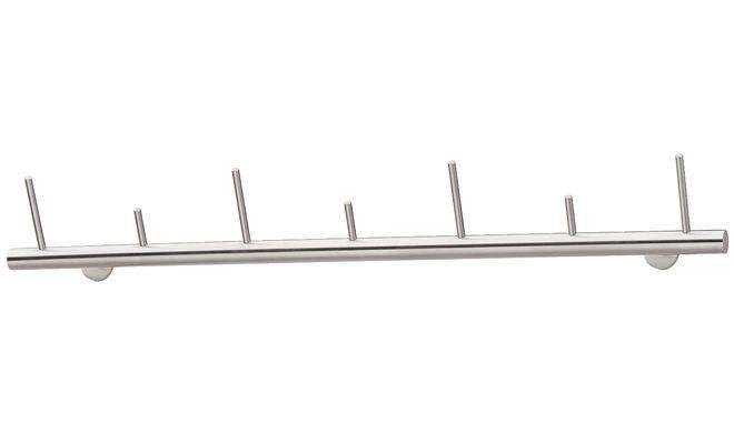 Вішалка - тримач нержавіюча сталь матова 1000 x 164 мм - купити за ... b6d96d126394f